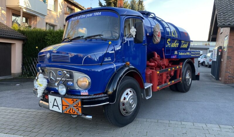 Mercedes-Benz 1413 Oldtimer Tankwagen